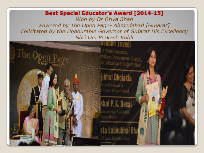 Best Special Educator's Award