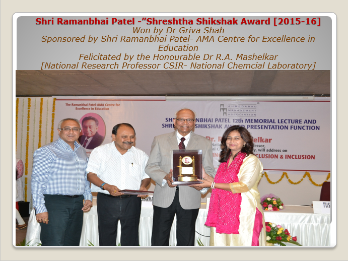 Shreshtha Shikshak Award